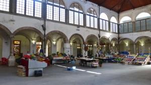 Mercado de alimentos en Lucca, el mejor lugar para conocer la gastronomía tradicional