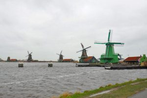 Conjunto de molinos de viento de Zaanse Schans