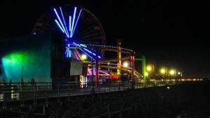 Pacific Park en el Muelle de Santa Mónica