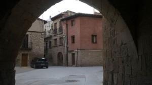 Antigua puerta de acceso de la Muralla de Olite