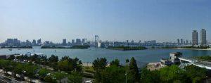 Panorámica de la Bahía de Tokio desde Odaiba