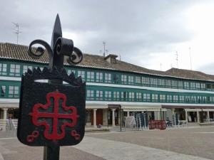 Acristalamiento de la Plaza Mayor de Almagro