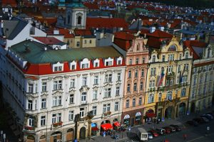 Edificios de la Plaza de la Ciudad Vieja de Praga