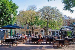 Plaza Dorrego, el corazón del barrio San Telmo
