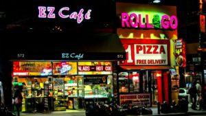 Locales de comida rápida en Nueva York