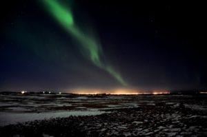 Aurora boreal en Islandia, destino ideal para fin de año
