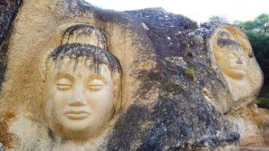 Krishna y Maitreya en la Ruta de las Caras de Cuenca