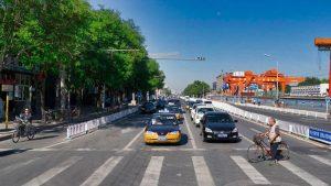 Taxi, uno de los medios de transporte para moverse por Pekín