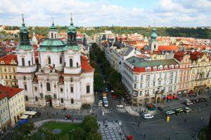 Plaza de la Ciudad Vieja, el centro neurálgico de Staré Mesto