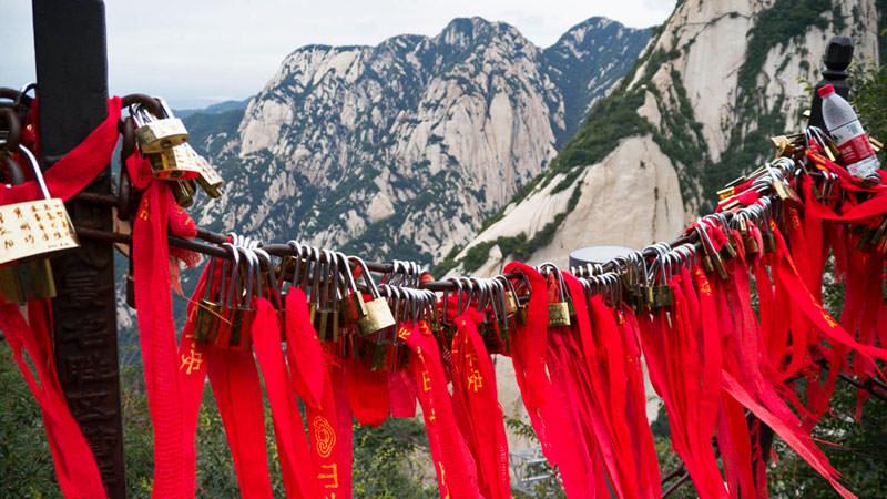 Mirador en lo alto del Monte Hua Shan