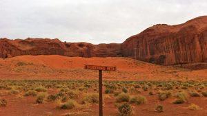 Thunderbird Mesa, ubicada al sur del Valle de los Monumentos