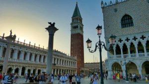 Torre campanario de Venecia